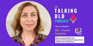 Belinda Peters special guest Talking DLD Podcast
