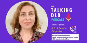 A Parent's Perspective on a DLD Diagnosis