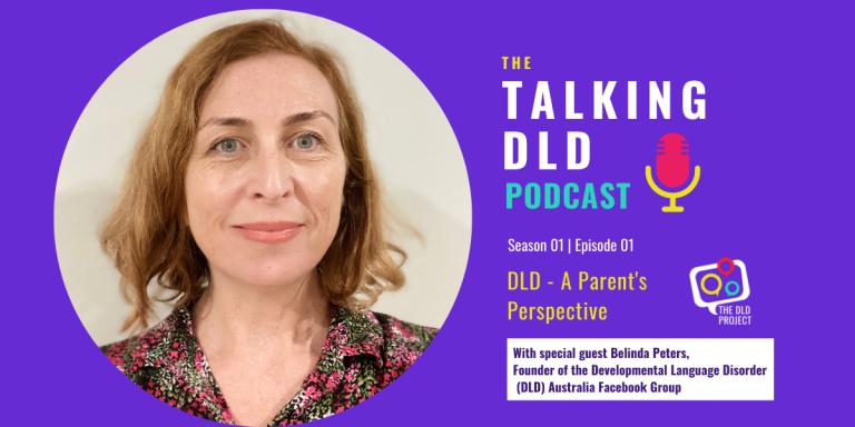 Belinda Peters special guest Talking DLD Podcast