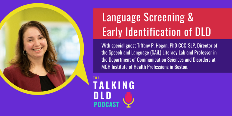 Language Screening and Early Identification of DLD