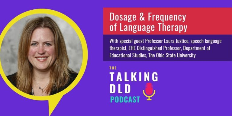 Dosage and Frequencey of Language Therapy for DLD - Website